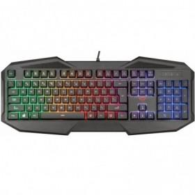 tastiera-usb-gaming-nera-retroilluminata-rgb-rainbow-trust-avon-gxt830-rw