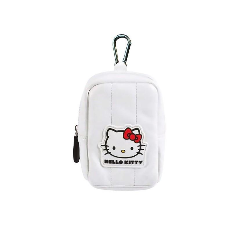 hello kitty pochette universelle 8x11x4 bianca