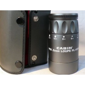 Cabin Pro Zoom Loupe PL-412M -BEST QUALITY- Cased