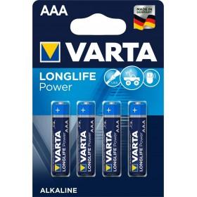 Varta High Energy Batteria Alcalina, Ministilo AAA, Confezione da 4 Pezzi