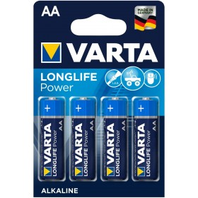 Varta Longlife Power AA Mignon Batteria LR06 (pacco da 4) Batteria alcalina