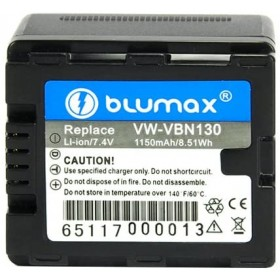 Blumax Batteria agli ioni di litio per Panasonic 1050MAH 7.2V 7,56WH