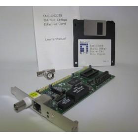 Internet card Level 1 one ISA Bus 10Mbps Ethernet Adapter ENC-0100TB (OEM)