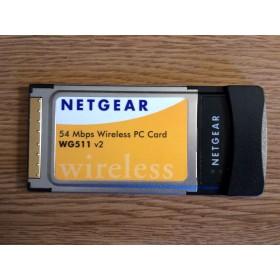 Netgear WG511 v2 - 54mbps Wireless Pc Card