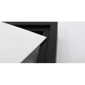 Cornice Combiframe nera per tela 40x40 cm