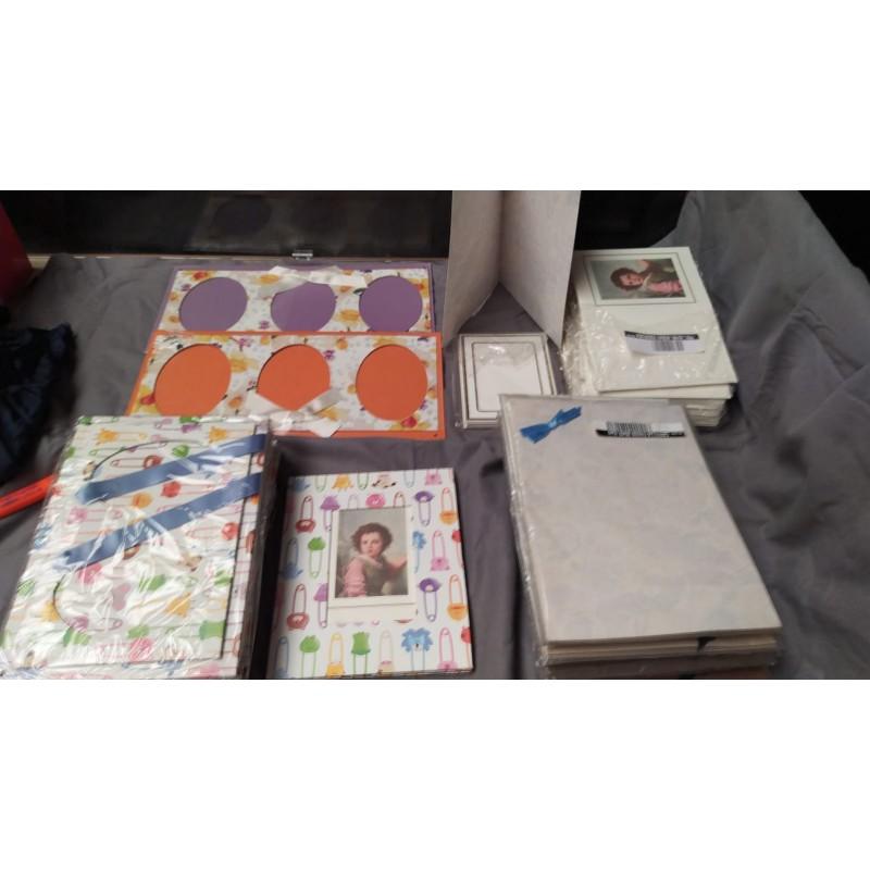 Stock biglietti libricini portafoto per battisimi, comunioni, matrimoni  pz 190